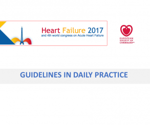 Guidelines in daily practice – Heart Failure Paris 2017