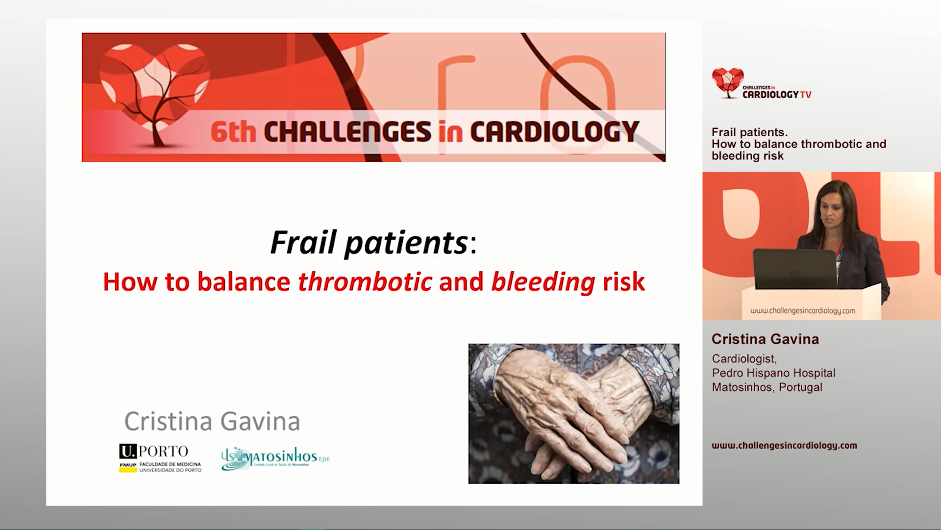 Cristina Gavina - 6th Challenges in Cardiology