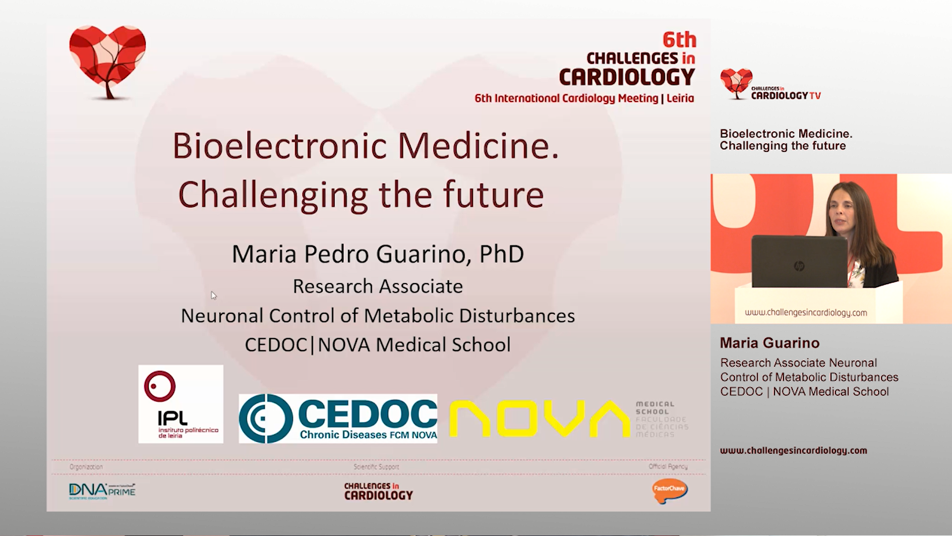 Maria Guarino - 6th Challenges in Cardiology