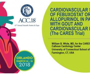 Cardiovascular Safety of Febuxostat or Allopurinol in Patients with Gout and Cardiovascular Disease (The CARES Trial)